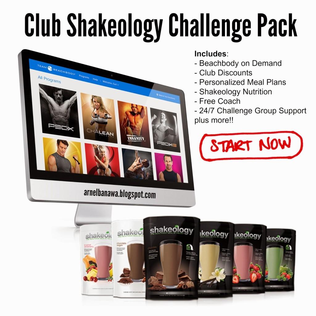 ClubShakeologyChallengePack