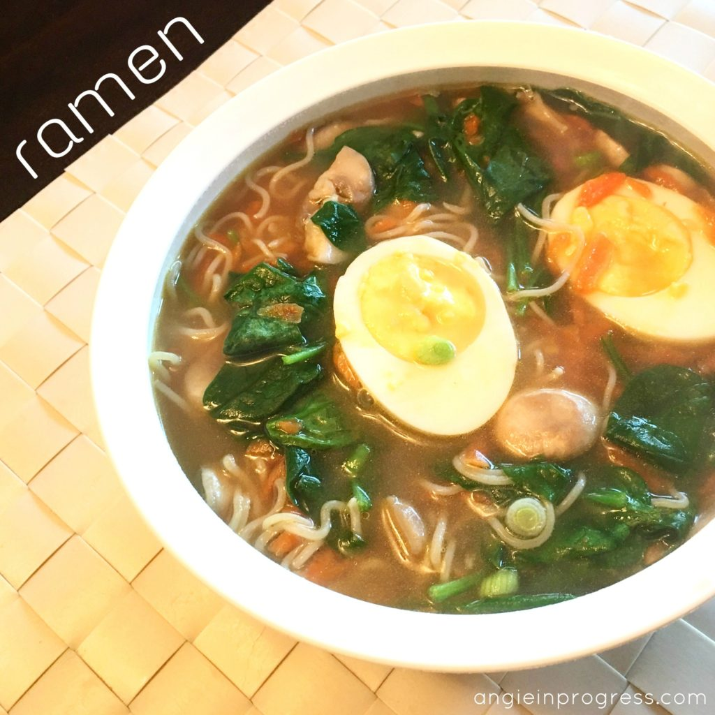 how to make healthy ramen broth